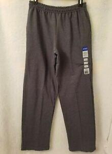 Gildans NWT Mens Heather Gray Sweat Pants Size S