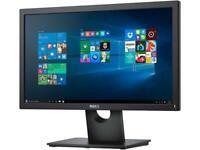 "Dell E1916HV Black 18.5"" HD LED TN Monitor, 1366 x 768, 600:1, 200cd/m2, D-Sub,"