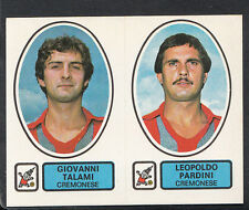 PANINI CALCIATORI FOOTBALL Adesivo 1977-78, N. 429, Cremonese, Giovanni TALAMI