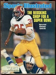 SI: Sports Illustrated August 16, 1976 High Priced Newcomer Calvin Hill Cover G