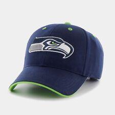 Seattle Seahawks NFL Youth Fit Kid Mass Money Maker Cap Hat Light Navy Blue