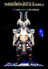 Diablo 3 RoS Ps4/Xbox One - Babar/Babarian - Macht der Erde - URALT - Unmodded