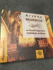CD Arsène MUZERELLE au Grand Orgue de la Cathédrale de Reims