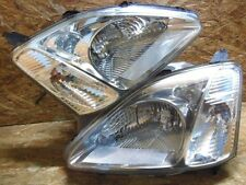 2000 2005 JDM HONDA CIVIC EU EU1 EU3 TYPE R CRYSTAL CHROME HID HEADLIGHT SET OEM