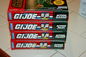 1993 Gi Joe Commemorative 30th Year Collection Set of 4 Action Figures-New