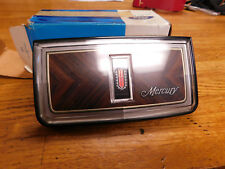 NOS 1983 - 1986 MERCURY MARQUIS STEERING WHEEL HORN PAD CENTER EMBLE ASSEMBLY