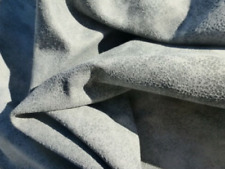 lambskin sheepskin leather hide Antiqued Grey Bomber Jacket Distressed very soft