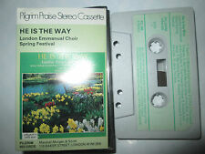 London Emmanuel Choir spring festival HE IS THE WAY PC786 UK Music Cassette Tape