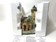 Partylite Ole World Village The Clocktower Tealight House P7887
