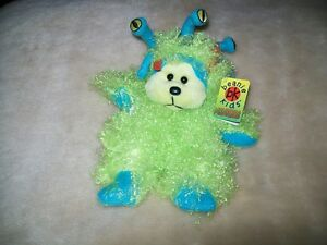 Beanie Kids GOOGLY THE MONSTER NMT BK 488 Retired March 2007 Tag Error