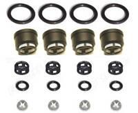 STI Side Feed Fuel Injector Repair Kit for Subaru JECS Filters Seals O-Rings