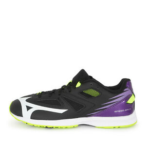 Mizuno Speed Mach [K1GC202267] Kids Running Shoes Black / White / Purple