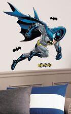 BATMAN BOLD JUSTICE GiaNT WALL DECALS DC Comics Hero Stickers NEW Bedroom Decor