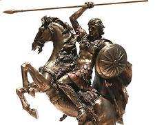 Alexander der Große Griechische König Statue Skulptur mit Bronze uberzogena