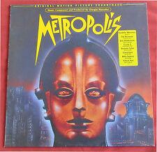 METROPOLIS  LP ORIG HOL  BOF  OST  MORODER