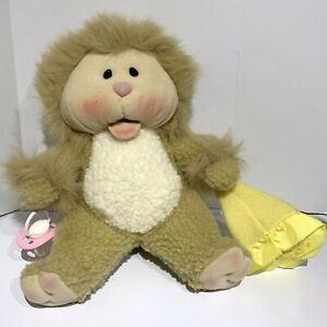 Linda Novick All Stuffed Up Chubby Cheeks Plush Need A Littles Cat Lion Kitty