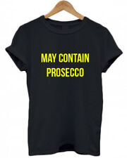 MAY CONTAIN PROSECCO, Wine Christmas GINgle Bells, festive present funny T Shirt