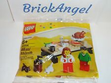 NEW LEGO 40056 Thanksgiving Day Feast Seasonal Factory Sealed Polybag 2013