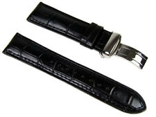 Casio Uhrenarmband 22mm Leder mit Faltschließe  EF-527L