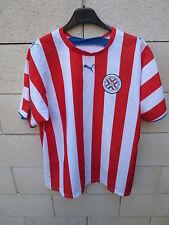 VINTAGE Maillot PARAGUAY Puma shirt jersey trikot camiseta World Cup 2002 L G