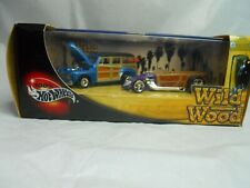 2002 Hot Wheels Wild Wood 1948 Ford & '30s Custom Roadster Set