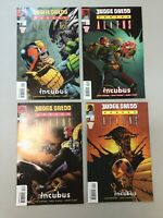 Judge Dredd Versus Aliens 1-4 Complete Set 1 2 3 4 Dark Horse Comics 2003