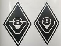 Volvo FM FH Wing Top strips  Decal Sticker Emblem  General 04