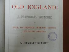 OLD ENGLAND PICTORIAL MUSEUM CHARLES KNIGHT