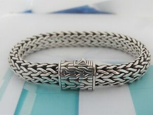 "10mm Sterling Silver 925   68.7 gr Classic chain  Bracelet 8"" long"