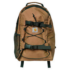 Carhartt Wip Backpack Kickflip Backpack Brown Everyday Backpack Board Holder