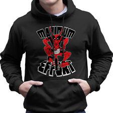 Deadpool Maximum Effort Hello Kitty, Men's Hooded Sweatshirt