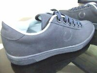 ORIGINAL MENS FRED PERRY REISSUE NAVY TENNIS SHOES CASUAL RETRO TRAINERS PUMPS