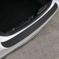 1x Accessories Carbon Fiber Auto Car Rear Bumper Protector Corner Trim Sticker