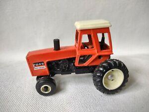 Ertl Allis Chalmers Orange Tractor With Cab 7045 Die Cast 1:64 Scale HTF