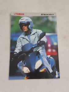 YAMAHA MAXSTER Motorcycle Sales Brochure 2001 #3SC-XQ125-01UK