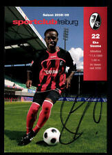 Eke Utoma Autogrammkarte SC Freiburg 2008-09 Original Signiert+A 107931