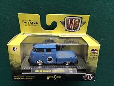 M2 Machines Blue 1960 VW Double Cab Truck USA Model