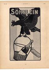 Reklame-Söhnlein-Sekt-Adler aus Jugend 1901