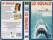 LO SQUALO (1975) vhs ex noleggio