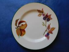 "ROYAL WORCESTER EVESHAM VALE SIDE BREAD PLATE 6.75"" Blackberries Peaches ENGLAND"