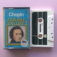 Chopin Double Deluxe Sonatas 2 & 3 Waltzes 1-9 Nikita Magaloff Cassette (C27)