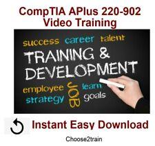 Learning CompTIA APlus 220-902 Video Training Tutorial