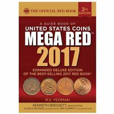 A Guide Book of United States Coins, 2nd Edition, Mega Red 2017: R.S. Yeoman NEW