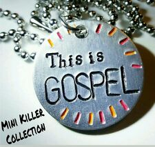 Panic at the Disco inspired necklace- this is gospel