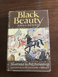 Black Beauty by Anna Sewell illustrated by Fritz Eichenberg 1945 vintage HC DJ