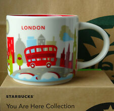 Starbucks City Mug Cup You are here Series YAH London England 14oz NEW
