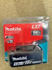 Makita 18V 5.0Ah Lithium-Ion Battery ~ Brand New ~ Charge Level Indicator ~