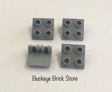 Lego Parte 6134 Lt Bluastro Grigio 2x2 Cerniera Mattone Top 7671 10182 6752