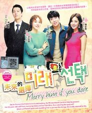 Marry Him If You Dare Korean Tv Drama (4 DVD) Excellent Eng Sub Region 0 Box Set