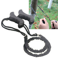 Gear Pocket Chain Saw Chainsaw Camping Hiking Emergency Survival Hand Tool New